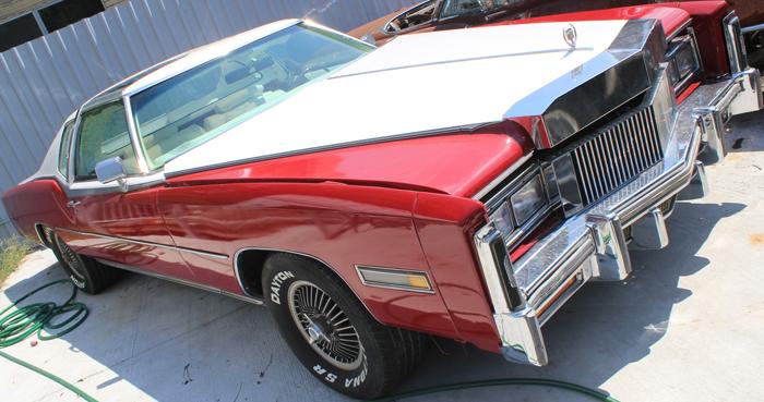 Car Top View >> 1977 Cadillac El Dorado Pickup